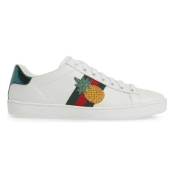 GUCCI New Ace Pineapple Sneakers