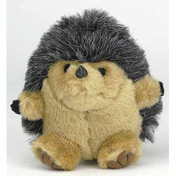 Aspen Pet Hedgehog Squatters Medium Dog Toy