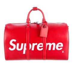 Louis Vuitton x Supreme Epi Keepall Bandoulière 45 Bag