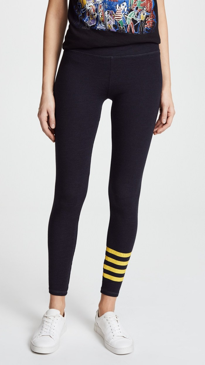 SUNDRY Stripes Yoga Leggings
