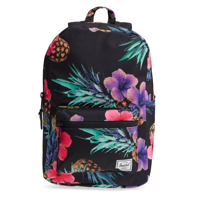 HERSCHEL SUPPLY CO. Pineapple Tropical Print 'Settlement Mid Volume' Backpack