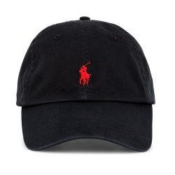 Polo Ralph Lauren Cotton Monogram Cap Mens Baseball Hat