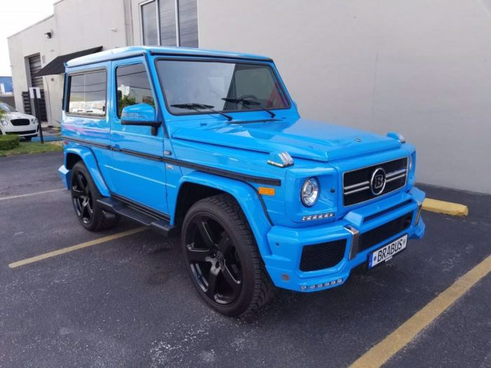 1983 Mercedes-Benz G-Class One of A Kind G280 Luxury SUV