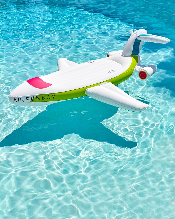 Funboy Inflatable Private Jet Pool Float