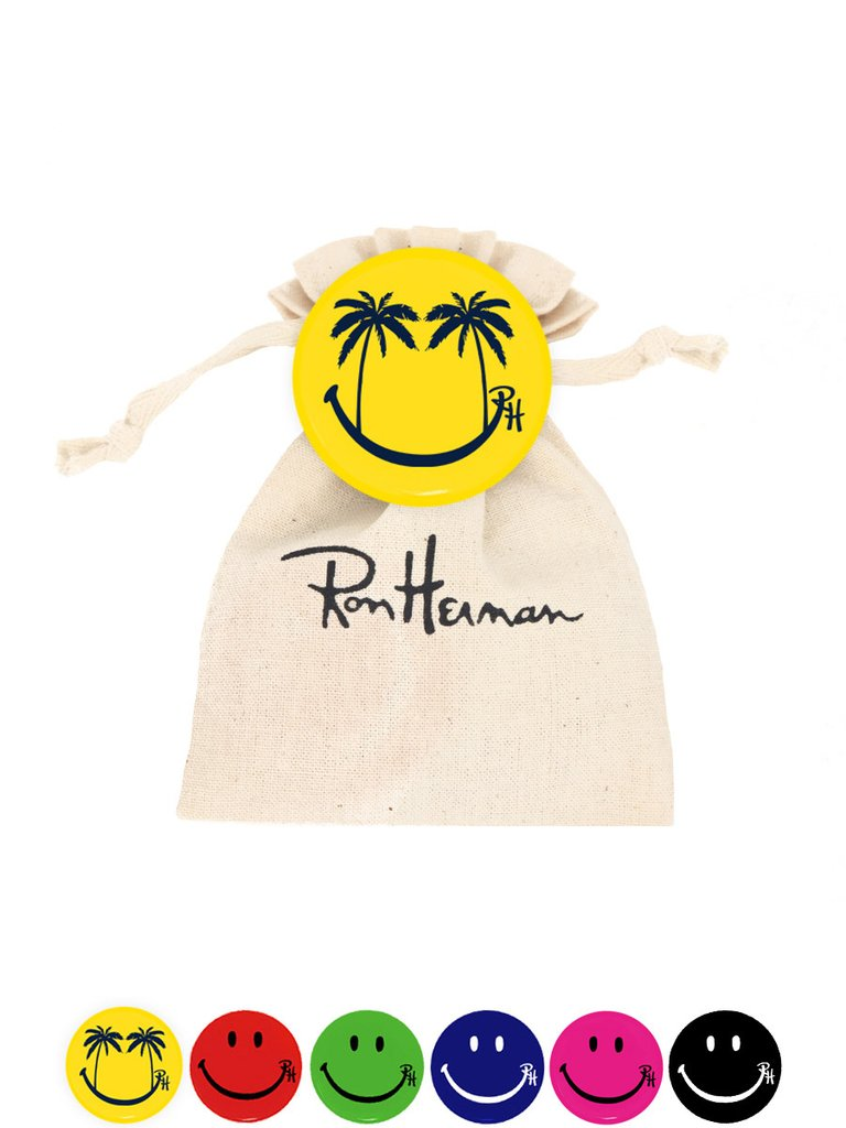 Ron Herman Happy Palm Smile Pin Pack