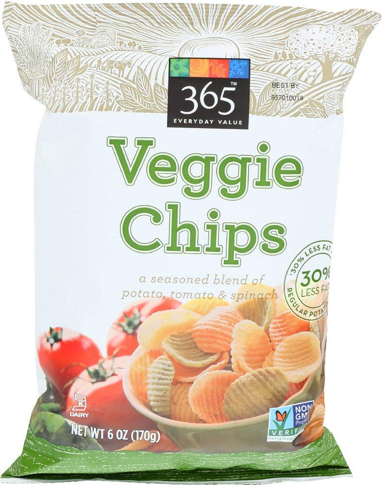 365 Everyday Value, 6 Ounce Veggie Chips