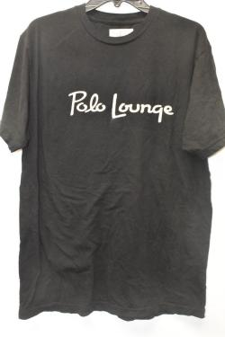 THE BEVERLY HILLS HOTEL AND BUNGALOWS POLO LOUNGE SIZE 2XL BLACK T-SHIRT