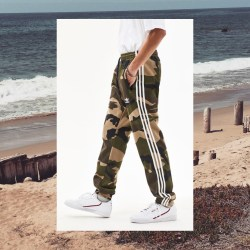 adidas Camouflage Mens Sweatpants