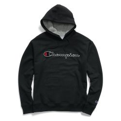 Champion Mens Powerblend Fleece Pullover Hoodie Sweatshirt