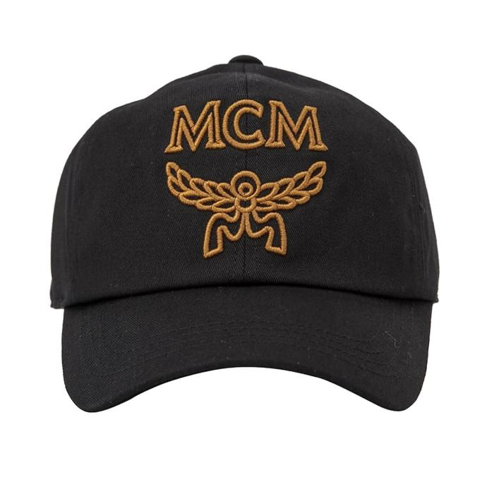 MCM Signature Cotton Womens Baseball Cap
