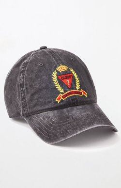 Guess Washed Classic Strapback Dad Hat from PacSun