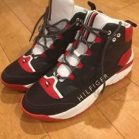 Tommy Hilfiger New (Vintage Style) Davos Men's High Top Sneakers - Size 12