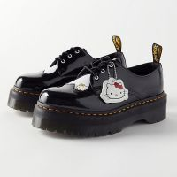 Dr. Martens X Hello Kitty 1461 Quad Platform Oxford Shoes