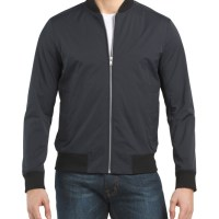 THEORY Brant Stretch Ripstop Bomber Jacket - Mens Jackets