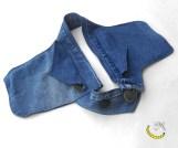 Marsupio con doppia tasca laterale - unisex - Malice's Craftland - riciclo creativo - artigianato sostenibile italiano