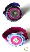 elastico per capelli - tessuti riciclati - Malice's Craftland - riciclo creativo -