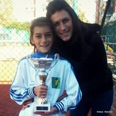 Nevena Nešović osvojila Otvoreno prvenstvo Zlatibora do 12 godina