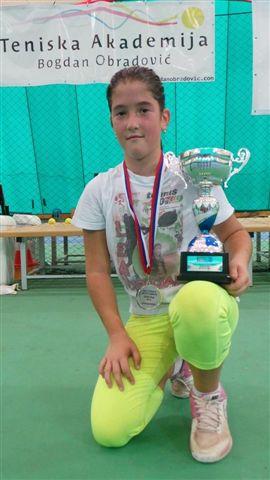 Lea Rupnjak pobednica Kupa Srbije 2014 do 10 godina