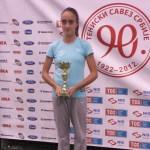 Milana Vulin, 3. mesto na Mastersu TSS-a do 12 godina za 2014. godinu
