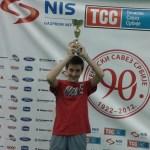 Nikola Mitrović osvojio 3. mesto na Mastersu TSS-a do 12 godina za 2014. godinu