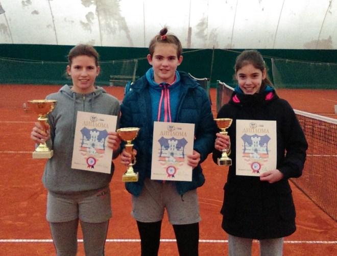 Aleksandra Stanković, Anja Drašković i Jelena Kovač, prva 3 mesta na Prvenstvu Beograda 2014 u OTK Beograd