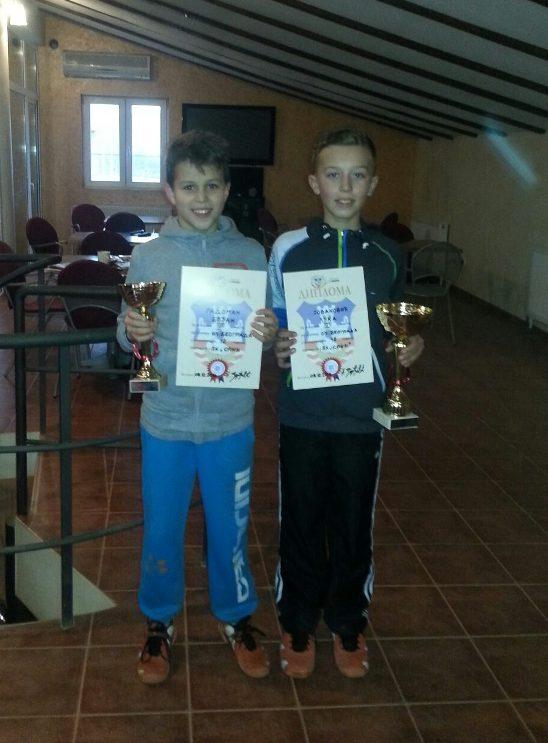Bojan Radoman i Luka Jovanović, finalisti OP Beograda u TK Spin