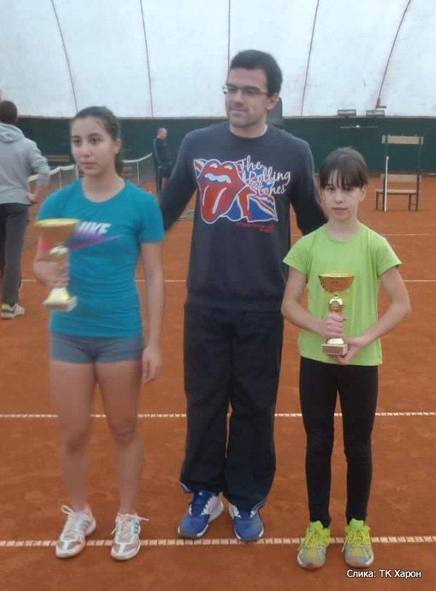Megi Khmiadashvili i Nađa Nonković