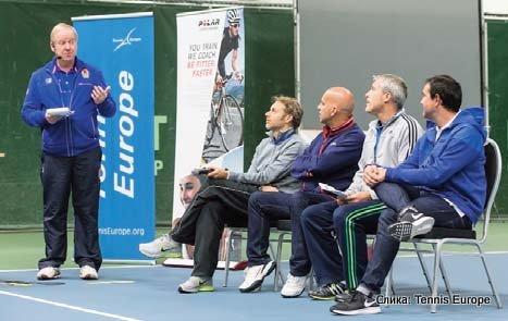 Tennis Europe, konferencija trenera, Jaime Fernandez