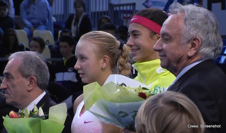 Les Petits As, turnir U14 u Tarbu, Olga Danilović i Anastasia Potapova