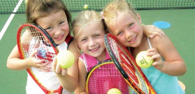 Deca teniseri, dečji sport