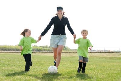 Fudbal, dečji sport, mama malog fudbalera