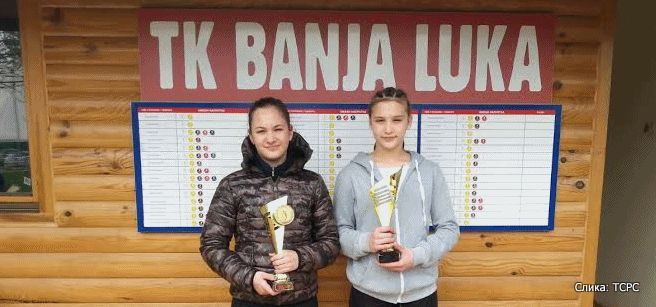 Sara Mikača i Andrijana Dragić, Meridijan kup 2015, Teniski klub Banja Luka