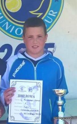 Marko Živanović, Sloboda kup do 12 godina, Teniski klub Sloboda Čačak