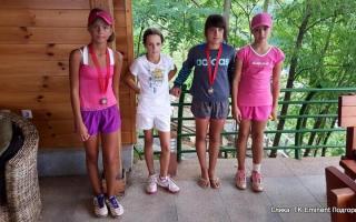 Vasilisa Kurilova, Bojana Nikčević, Anja Mrkić, Nikoleta Jevtović, Eminent kup do 12 godina, Teniski klub Eminent Podgorica