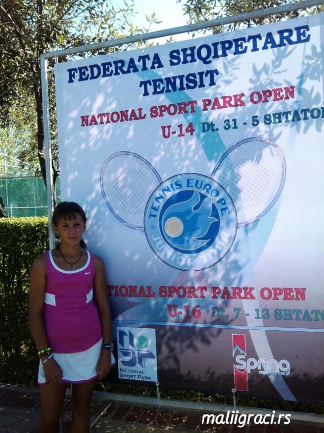 Luna Urso, National Sport Park Open U14 Tirana, Albania, Tennis Europe Junior Tour