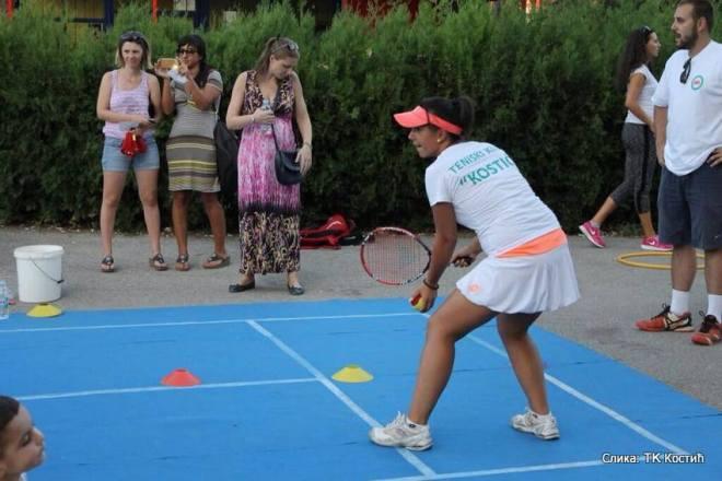 Promocija dečjeg tenisa u Nišu, Teniski klub Kostić Niš, Dečiji svet tenisa