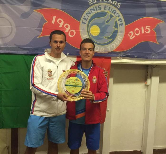Marko Miladinović, Aleksandar Trifunović, Tennis Europe Junior Masters U16