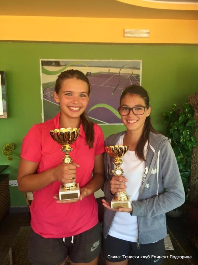Edisa Hott, Ana Cvijetić, Eminent kup do 14 godina, Teniski klub Eminent Podgorica