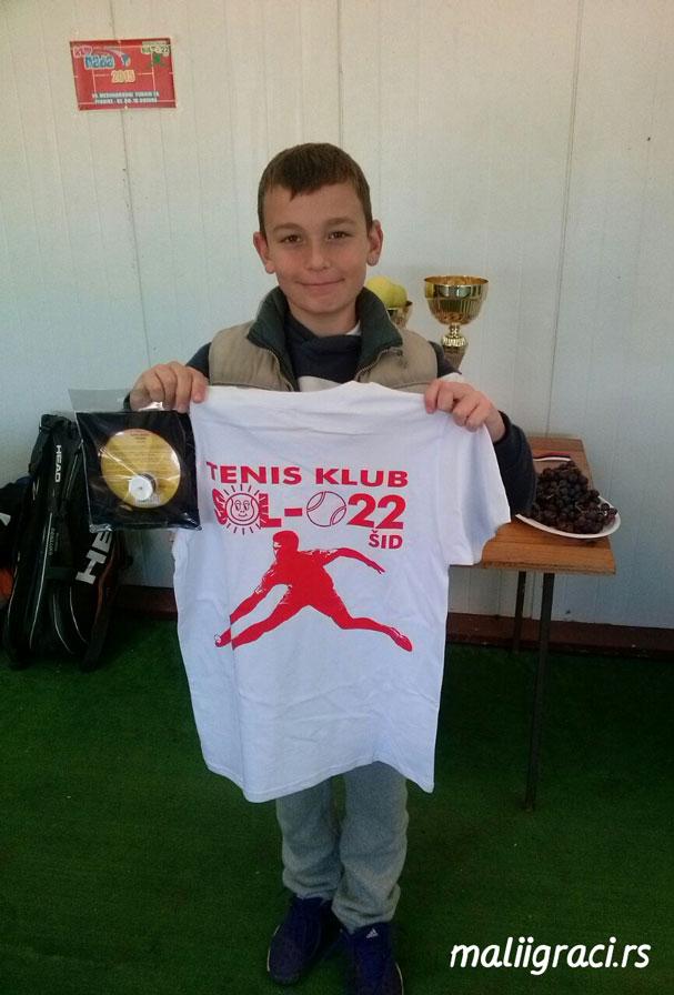 Otvoreno prvenstvo Šida do 12 godina, Teniski klub Sol 022 Šid