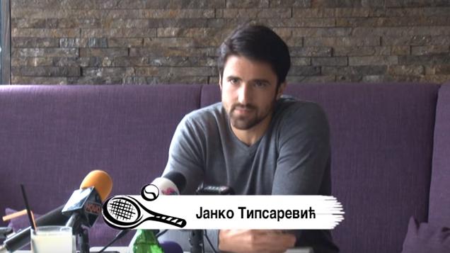 Janko Tipsarević, emisija Reket na Sos kanalu
