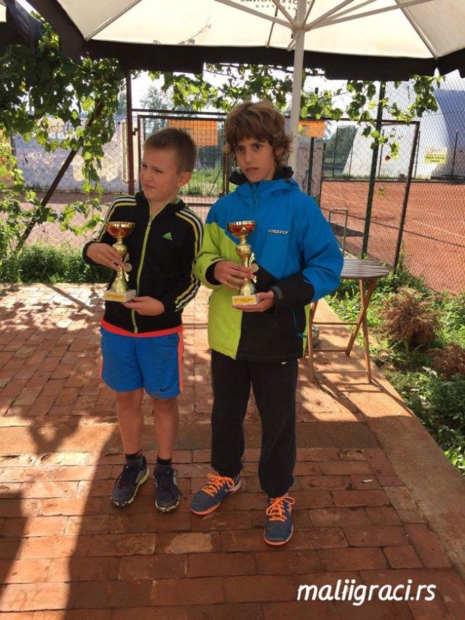 Romeo Hadžimehmedović, Lazar Dimitrijević, Otvoreno prvenstvo Kraljeva do 12 godina, Teniski klub Kraljevo