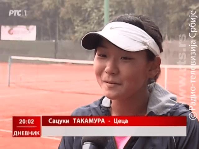 Satsuki Takamura, Japanci u Pančevu, Teniski klub Dinamo Pančevo