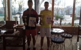 Aleksa Ćirić, Goran Životić, Otvoreno prvenstvo Beograda do 16 godina, Teniski klub Victoria Beograd