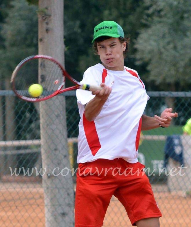 Nemanja Subanović, Eleon Tennis Cup U14 Nicosia_decaci, Eleon Tennis club Nicosia, Con Avraam