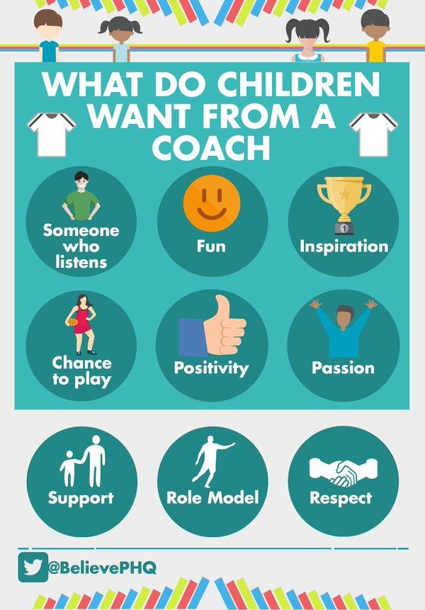 Šta deca žele od trenera?