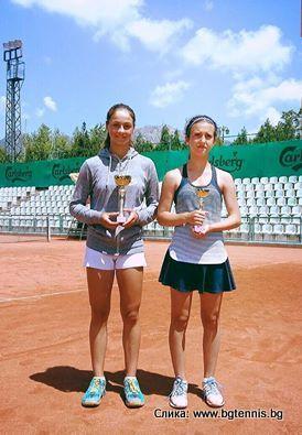 Elena Trencheva, Renata Fatima, Sport Palace Cup U14 Sliven Bulgaria, Tennis Europe Junior Tour