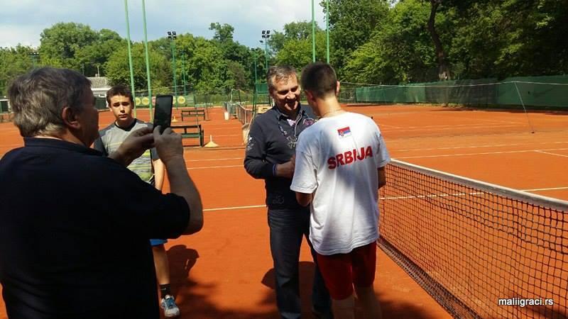 Milan Vučković, Kristian Juhas, Prvenstvo Vojvodine do 16 godina, Teniski klub Spartak Subotica
