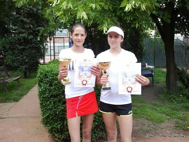 Nevena Kolarević, Jelena Marjanović, Prvenstvo Beograda do 14 godina, Teniski centar Master Beograd