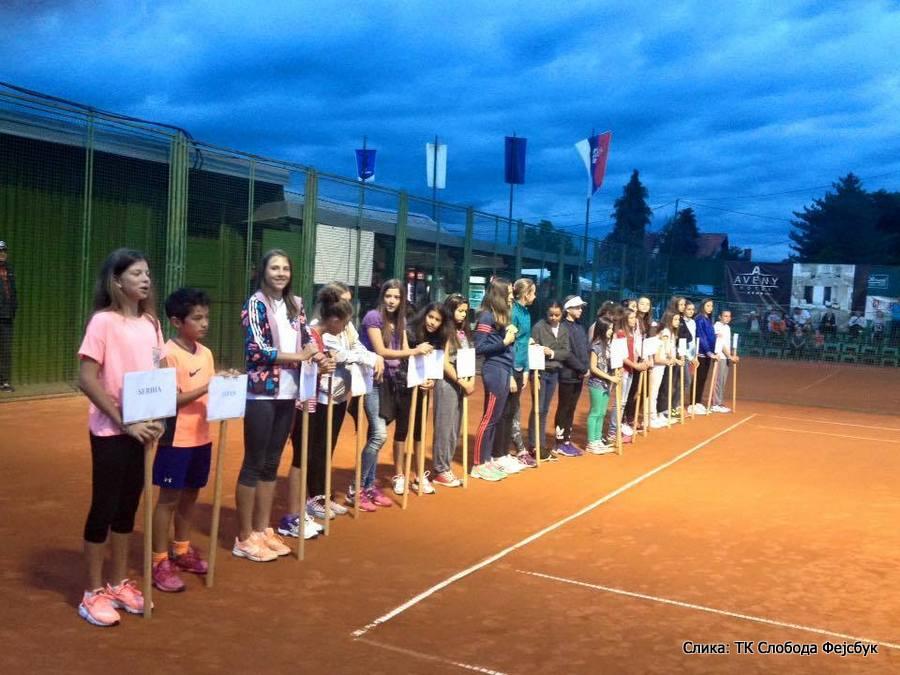 Cacak Open 2016 U14 Čačak, Tennis Europe Junior Tour, Teniski klub Sloboda Čačak