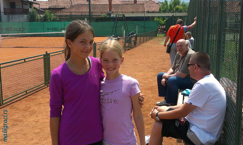 Lola Radivojević, Lara Stojanovski, Tennis Point Open 2016 Čačak U12, Tennis Europe Junior Tour, Teniski klub Tennis Point Čačak